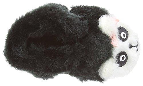 Robeez panda & chausson bébé fille chaussures Noir - Noir/blanc