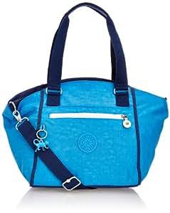 Kipling AMBERLEY SW K1252755D Damen Schultertaschen 47x29x18 cm (B x H x T), Blau (Mineral Blue SW)