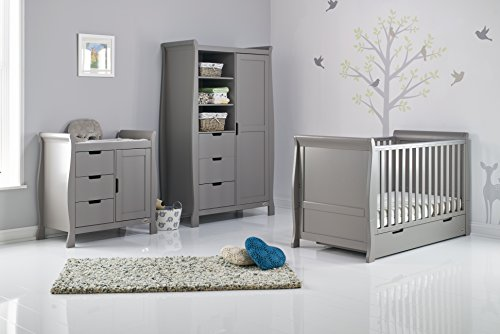 Stamford Classic Sleigh 3 Piece Room Set - Taupe Grey