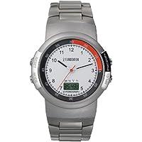 Eurochron Cronografo (-Junghans) Orologio radiocontrollato orologio da polso acciaio inox