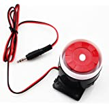 Wired Mini Siren for Home Security Alarm System Horn Siren 120dB 12V