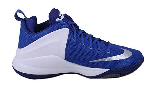 Nike 852439-400, espadrilles de basket-ball homme Bleu
