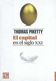 El capital en el siglo XXI par Thomas Piketty