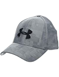 Under Armour Mens Printed Blitzing 3.0 Gorra, Hombre, Gris (Mod Gray/Steel