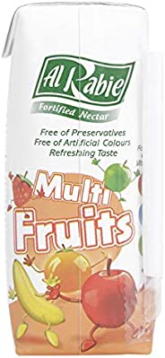 Al Rabie Fortified Nectar Multi Fruits, 120 ml