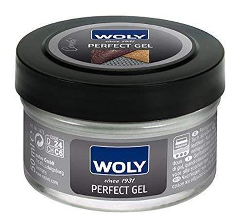 WOLY parfait gel et gratuit Polissage Chiffon - Adéquat pour nettoyage et conditionnement pour tous cuirs