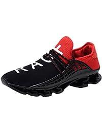 Styledress Sneaker Herren Schuhe, Unisex Sport Sneaker Herrenschuhe Flache  Schuhe Mesh Schuhe Flache Ferse Sportschuhe 58936e61ea