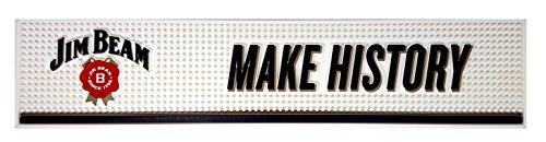 Jim Beam Barmatte - Make History - ca. 60x13cm