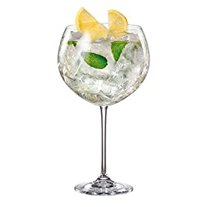 Enebro Gin Cocktail Gläser Handbeil/850ml-Fall von 6-großen Gin Ballon Gläser