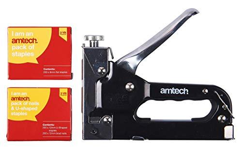 Am-Tech 3-en-1 pistola de grapas