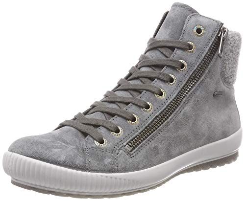 Legero Damen Tanaro Hohe Sneaker, Grau (Basalto 21), 38.5 EU ( 5.5 UK)
