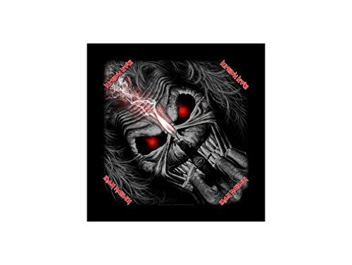 Iron Maiden - Bandana Candle Eddie - Iron Maiden testa panno