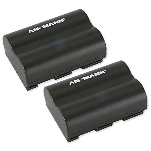 ANSMANN A-Can BP 511 Li-Ion Digicam Ersatz-Akku Kameraakku 7,4V/1400mAh für Canon Foto Digitalkamera (2 Stück) (Akku Canon 40d Eos)