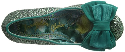 Irregular Choice - Ban Joe, Scarpe col Tacco Donna Verde (Green)