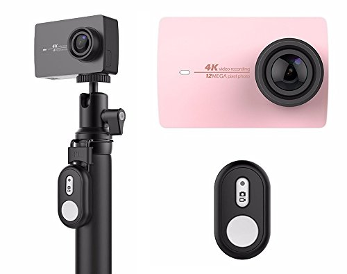 yi-4-k-action-camera-rose-gold-with-bluetooth-remote-control-selfie-stick-4-k-video-recording-12mp-p