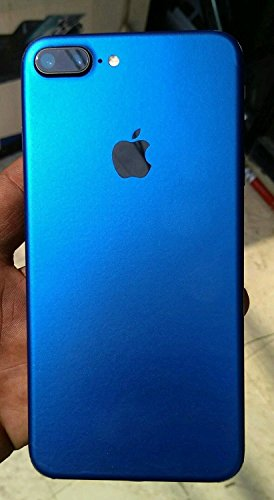 Crystal Skin Fullbody Blue Matte Skin/wrap for iPhone 7Plus(Back Sticker only)