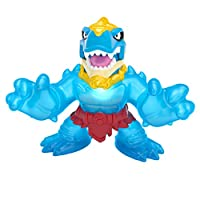 Heroes of Goo Jit Zu Dino Power Action Figure - Stretches up to 3x Original Size with Lights and Sounds, Multicolor