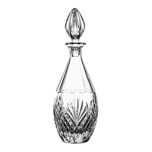 Crystaljulia 8089 Weinkaraffe, Kristall, 750ml, 11 x 11 x 24 cm