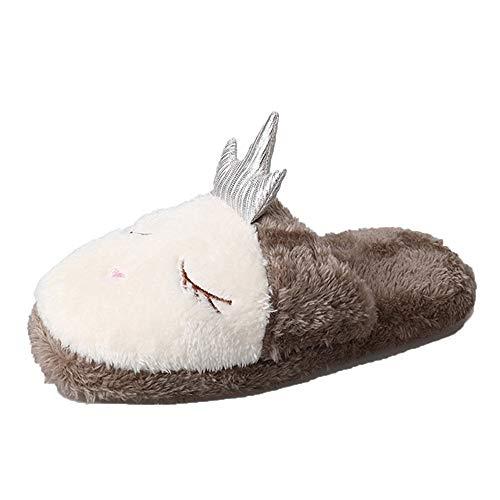 Pantofole Donna,Scarpe da casa,YanHoo Pantofole da casa per Scarpe da casa Furry da Donna Antiscivolo