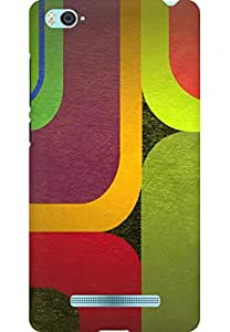 AMEZ designer printed 3d premium high quality back case cover printed hard case cover for Xiaomi Mi4i MZB4300IN (Geometric Abstraction 3)