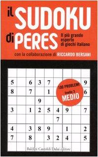 Il Sudoku di Peres. Livello 3 medio