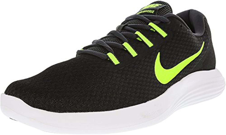 NIKE Men's Lunarconverge Running Shoes  Black/Volt/White/Anthracite  13 D US