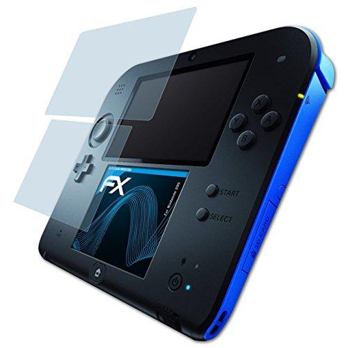 AtFoliX Lámina Protectora Pantalla compatible Nintendo