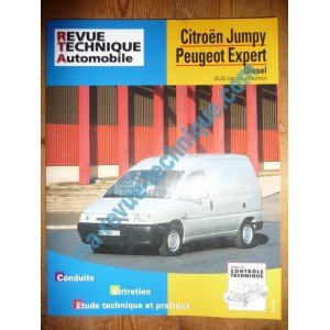 RRevue Technique0590.1 REVUE TECHNIQUE AUTOMOBILE CITROEN JUMPY – PEUGEOT EXPERT Diesel XUD