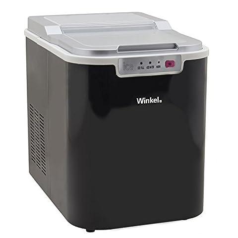 Winkel KW12 Machine à Glaçons Noir
