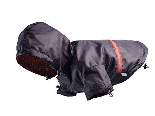 Hunter 62888 Hunde-Regenmantel Niagara, wasserabweisend, reflektierend, dunkelblau
