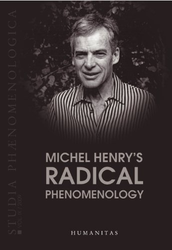Michel Henry's Radical Phenomenology (Studia Phaenomenologica) (English, French and German Edition) by Rolf Kuhn (2009-10-01)