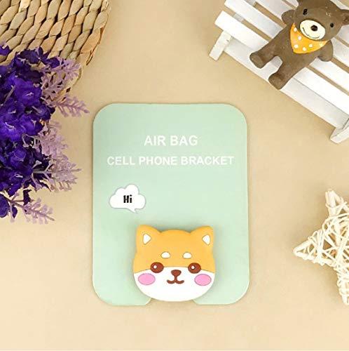 Shiba Inu Dog Universal Handy Ring Halter Universal Handy Auto Halterung klappbar Griff Handyhalterung für iPhone XS Max R 8 Plus 7 Samsung Galaxy S10 E S9 S8 Plus Edge Note 9 -