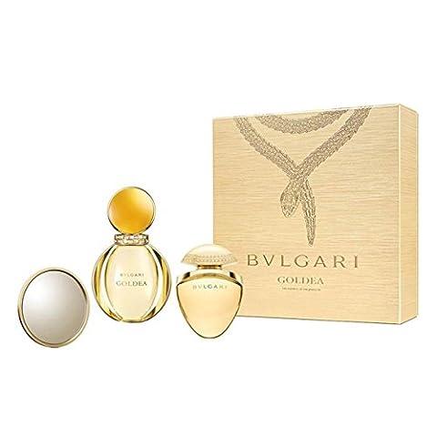 Bvlgari Goldea Eau De Parfum Vaporisateur 50ml Coffret 3 Produits