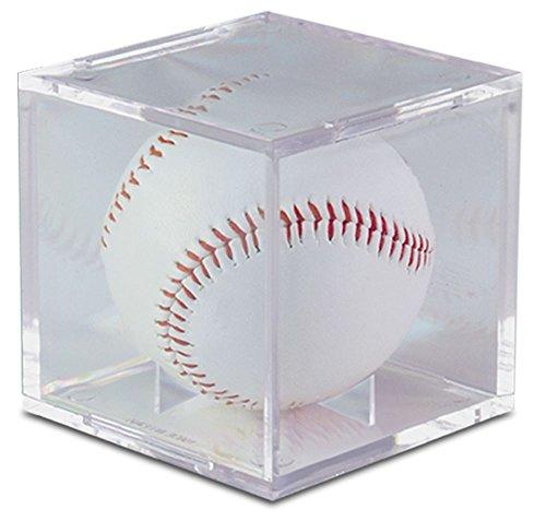 Ultra Pro Soporte de béisbol transparente cuadrado UV