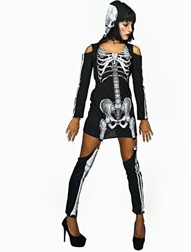 ett gedruckt Overall Kleid Halloween-Kostüm (L) ()