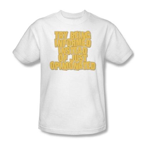 Informed - Mens T-Shirt In White
