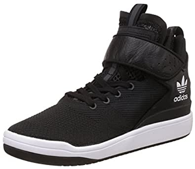 adidas Originals Men's Veritas - X Weave Black, White and Silver Mesh Basketball Shoes - 12 UK