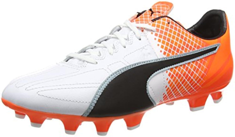 Puma Evospeed 3.5 Lth FG - botas de fútbol para hombre Blanco Size: 7.5