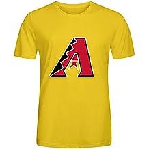 MLB Arizona Diamondbacks Team Logo Crew Neck Men Custom T Shirt Design XXXX-L