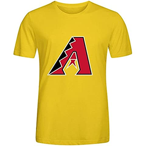 MLB Arizona Diamondbacks Team Logo Crew Neck Men Custom T Shirt Design XXXX-L