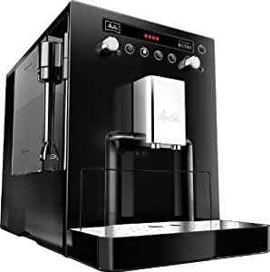 Melitta MEL6613822 Caffeo Bistro Fully Automatic Bean to Cup Coffee Maker, Black