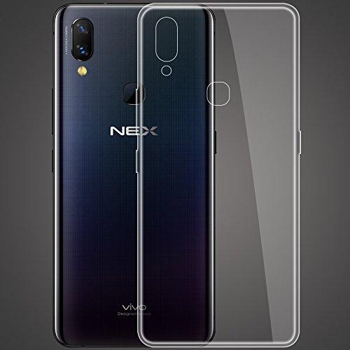 cookaR Vivo Nex hülle transparent Handyhülle, Ultra Dünn Soft Silikon Crystal Clear Schutzhülle für Vivo Nex case Cover. Vivo Nex case Cover(transparent)