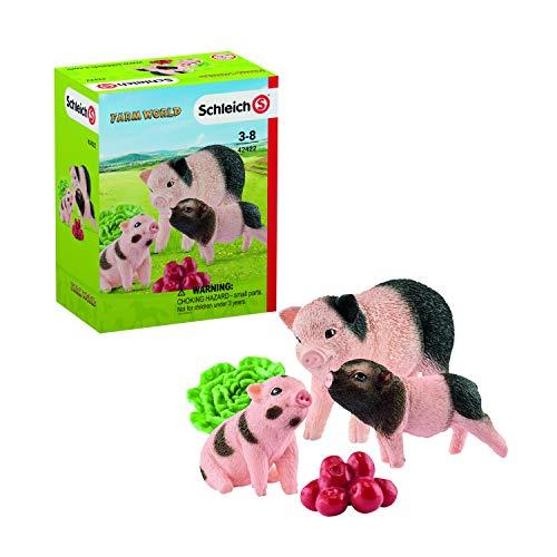 Schleich 42422 Mini-Schwein Mutter und Ferkel