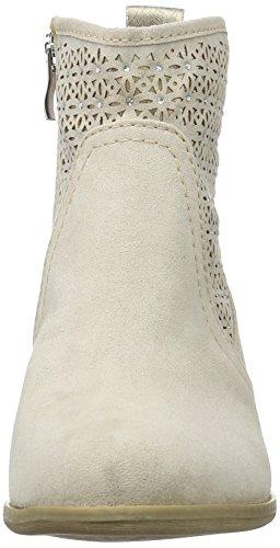 Marco Tozzi25400 - Stivali classici imbottiti a gamba corta Donna Beige (Dune Comb 435)