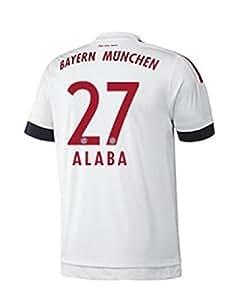 FC Bayern Away Trikot Herren 2016 - ALABA 27, Größe:S