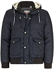 """Lonsdale MEN Hooded Winterjacket """"TICKHILL"""" - Anthracite"""