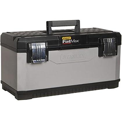"Stanley 1-95-617 - Caja de herramientas metálicaFatMax 26""/66cm"