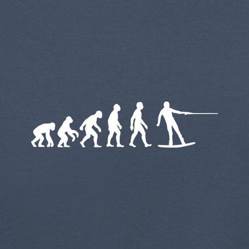 Evolution of Man - Wakeboard - Herren T-Shirt - 10 Farben Dunkelblau