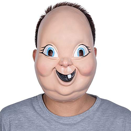 Dodom 2019 Neue Kunststoff Halloween Maske Happy Death Day Maske horrorfilm Cosplay replik Requisiten für Party, x11030