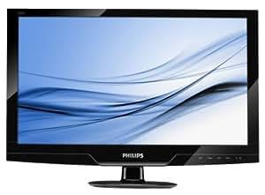 """Philips E-line 221E2SB Ecran PC LCD 22"""" VGA/DVI-D Noir brillant"""
